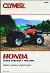 Honda TRX450 Foreman ATV 1998 - 2004 Clymer Owners Service & Repair Manual