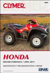 Honda TRX500 Foreman ATV 2005 - 2011 Clymer Owners Service & Repair Manual