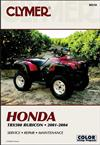 Honda TRX500 Rubicon ATV 2001 - 2004 Clymer Owners Service & Repair Manual