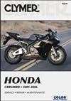 Honda CBR600RR 2003 - 2006 Clymer Owners Service & Repair Manual