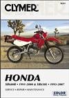 Honda XR600R 1991 - 2000 & XR650L 1993 - 2007