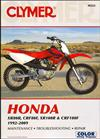 Honda XR80R, CRF80F, XR100R, CRF100F 1992 - 2009
