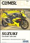 Suzuki GSXR-1000 2005 - 2006 Clymer Owners Service & Repair Manual