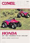 Honda ATC70, ATC90, ATC110, ATC125, Fourtrax 70 & 125, TRX125 1970 - 1987