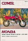 Honda XR50R, CRF50F, XR70R, CRF70F 1997 - 2005