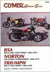 Vintage British Street Bikes: BSA: Norton & Triumph