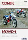Honda XL500, XR500, XL600 & XR600 1979 - 1990