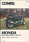 Honda CB750 SOHC 1969 - 1978 Clymer Owners Service & Repair Manual