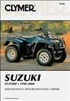 Suzuki LT-F500F Quadrunner 500 1998 - 2000 Clymer Owners Service & Repair Manual