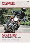 Suzuki GT380, GT550, GT750 Triple 1972 - 1977