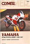 Yamaha FZ700, FZ750 & FZX700 Fazer 1985 - 1987Clymer Owners Service & Repair Manual