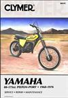 Yamaha GT1, GT80, YZ80, YZ100, DT100, MX100, DT125, MX125, YZ125, DT 1968 - 1976