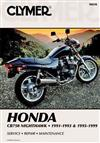 Honda CB750 Nighthawk 1991 - 1999 Clymer Owners Service & Repair Manual