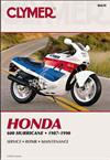 Honda Hurricane CBR600 1987 - 1990 Clymer Owners Service & Repair Manual