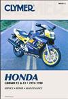 Honda CBR600 F2 & F3 1991 - 1998 Clymer Owners Service & Repair Manual