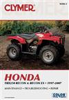 Honda TRX250 Recon and Recon ES 1997-2007 Clymer Owners Service & Repair Manual