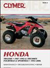 Honda TRX250X & TRX300EX Fourtrax, Sportrax ATV 1993 - 2006