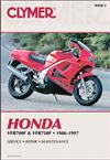 Honda VFR700F & VFR750F 1986 - 1997 Clymer Owners Service & Repair Manual