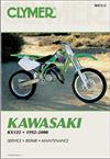 Kawasaki KX125 1992 - 2000 Clymer Owners Service & Repair Manual
