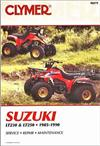 Suzuki LT230 & LT250 1985 - 1990 Clymer Owners Service & Repair Manual