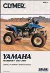 Yamaha Warrior YFM350 ATV 1987 - 2004 Clymer Owners Service & Repair Manual