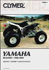 Yamaha YFS200 Blaster ATV 1988 - 2005 Clymer Owners Service & Repair Manual