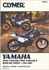 Yamaha PW50, PW80 Y-Zinger, BW80 1981 - 2002