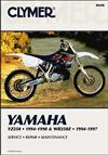 Yamaha YZ250 & WR250Z 1994 - 1998 Clymer Owners Service & Repair Manual