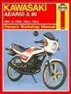 Kawasaki AE/AR 50 & 80 1981 - 1995 Haynes Owners Service & Repair Manual