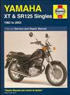 Yamaha XT and SR125 1982 - 2003 Haynes Owners Service & Repair Manual