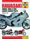 Kawasaki ZX900, 1000 & 1100 Liquid-cooled Fours 1983 - 1997