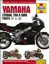 Yamaha FZR600, 750 & 1000 Fours 1987-1996 Haynes Owners Service & Repair Manual