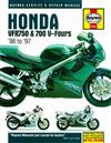 Honda VFR750 & 700 V-Fours 1986 - 1997 Haynes Owners Service & Repair Manual