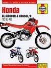 Honda XL/XR600R & XR650L/R 1983 - 2008 Haynes Owners Service & Repair Manual