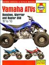 Yamaha YFZ350 Banshee, YFM350X Warrior, YFM35 Raptor 350 1987 - 2010