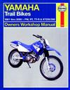 Yamaha Trail Bikes 1981 - 2000 Haynes Owners Service & Repair Manual