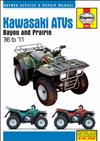 Kawasaki Bayou 220/250/300 & Prairie 300 ATVs 1986 - 2011