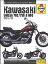 Kawasaki Vulcan 700/750 & 800 1985 - 2004 Haynes Owners Service & Repair Manual