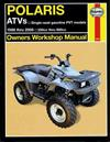 Polaris ATVs 1998 - 2006 Haynes Owners Service & Repair Manual
