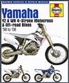 Yamaha YZ & WR 4-stroke Motocross & Off Road Bikes 1998 - 2008