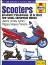 Scooters (Automatic Transmission) 50cc - 250cc Carbureted Models