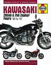 Kawasaki ZR550 & 750 Zephyr 1990 - 1997 Haynes Owners Service & Repair Manual