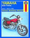 Yamaha 650 Twins 1970 - 1983 Haynes Owners Service & Repair Manual