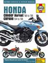 Honda CB600F Hornet & CBF600 1998 - 2006 Haynes Owners Service & Repair Manual