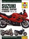 Suzuki GSX600F GSX750F & GSX750 1998- 2002