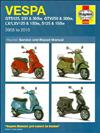 Vespa Scooters GTS, GTV, LX, LXV, S 2005 - 2010