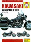 Kawasaki Vulcan 1500 & 1600 1987 - 2008 Haynes Owners Service & Repair Manual